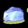 5 roche de volcan gelée