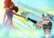 Episode 28 Illustration Valkyon and Tia