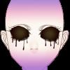 Płaczące puste oczy4