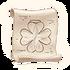 Kleeblattförmiger Flacon 1