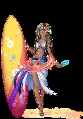 Gardienne Salty Surfer