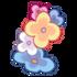 Linker Armreif aus Gartenblumen 1