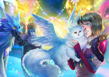 Christmas 2019 Event Guardian Illustration