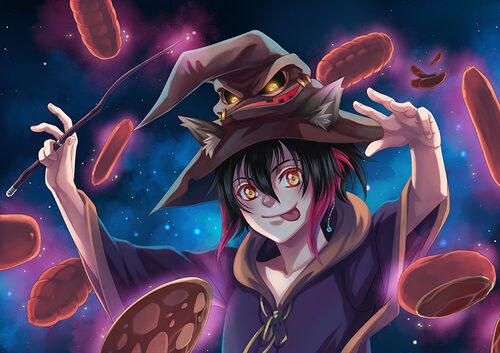 Illustration Halloween2017 Chrome