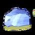 Gestein des Eisvulkans