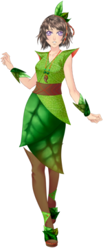 Outfit Cute Leaf