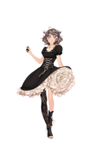 Valentine Goth Outfit