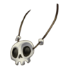Clothing Skull Necklace