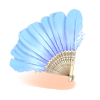 Bait Feather Fan