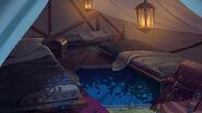 Quarto Acampamento Noite