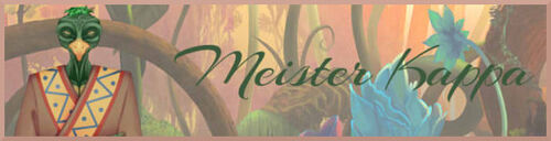 Banner Meister Kappa