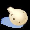 Ocarina en ivoir