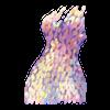 Kleid Seapunk