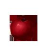Tiefroter Apfel