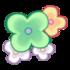 Rechter Armreif aus Gartenblumen 1