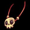 Naszyjnik czaszka 11