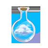Fiole de nuage
