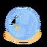 Gefrorene Blase