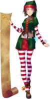 Outfit Santa's Assistant