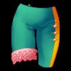 Spodnie uni z falbankami 35