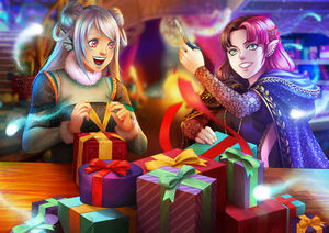 Karenn and Alajea Christmas 2019 Event
