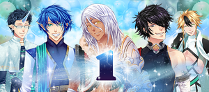 First Anniversy Banner