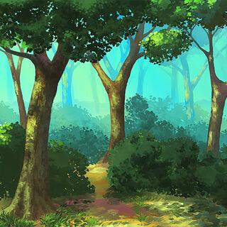 Земной лес