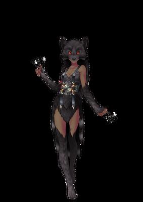 Wolf Druid 9