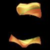 Dwukolorowe bikini 5