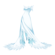 Suknia-snowqueen