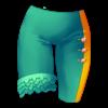 Spodnie uni z falbankami 37