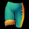 Spodnie uni z falbankami 36