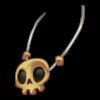 Naszyjnik czaszka 1