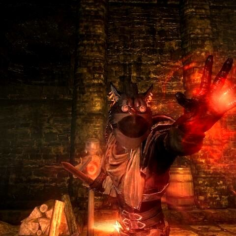 Urjorahn using Daedric Magic