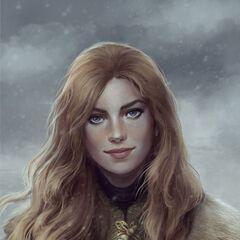 Queen Shaena of Wayrest, daughter of Prince Rallan, niece of Maerys I