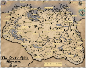 Skyrim Map Locations