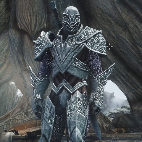 Syinter in his General Armor