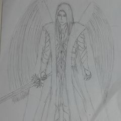 Early Raydin concept art