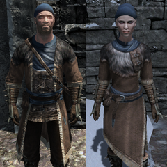 Stormcloak Mage Officer Robes