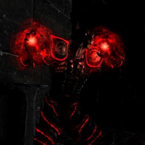 Urjorahn casting Daedric Curse