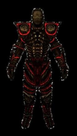 Cursed Daedric Armor