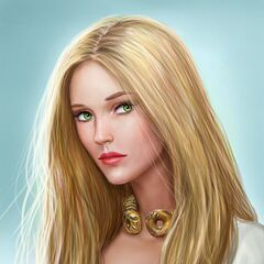 Princess Dera, daughter of Maerys I, wife of Aerion Brightflame