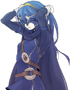 Lucina Snow Lady Mask