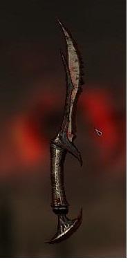 Cursed Daedric Dagger