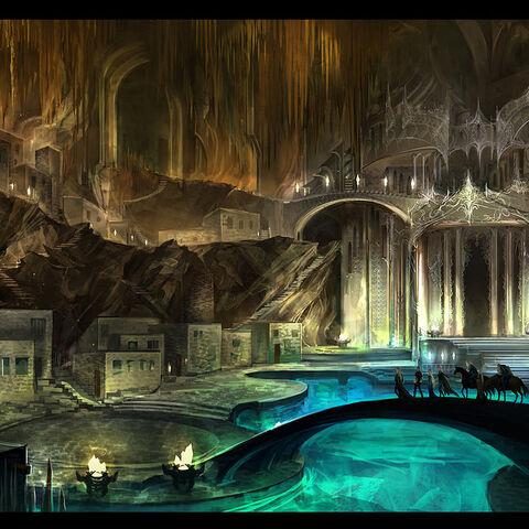 The Temple of Arik Morgan, in the City of Deornum