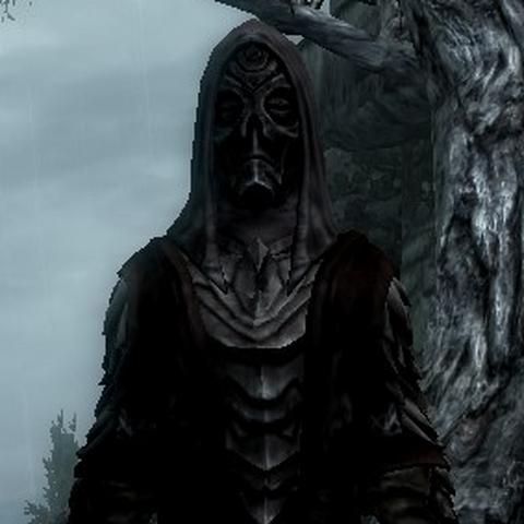 Celia in her dark armor granted to her by Tyranus.