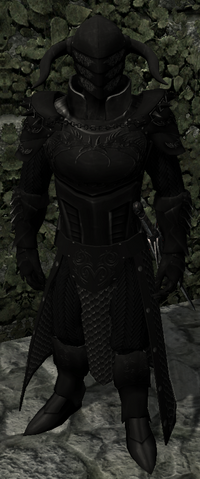 Augurius Black Armor