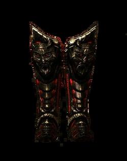 Cursed Daedric Boots