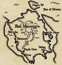 Vvard map vvardenfell