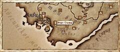 Форт Странд (Карта)